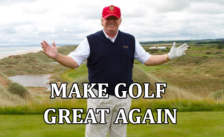 Trump News: POTUS Installed $50,000 Room-Sized Golf Simulator at White House Because He Can