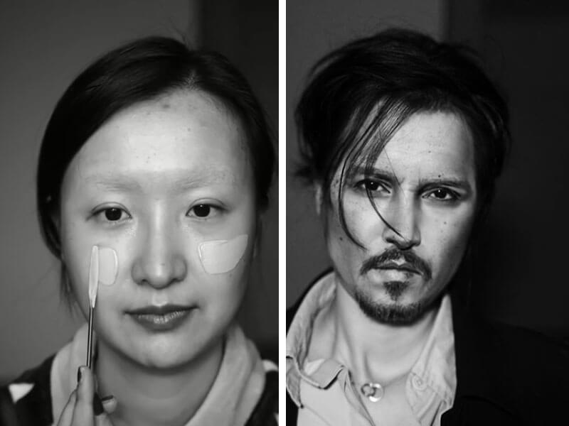 WOW! Beauty Guru Transforms Herself Into Johnny Depp, Taylor Swift and More Celebs