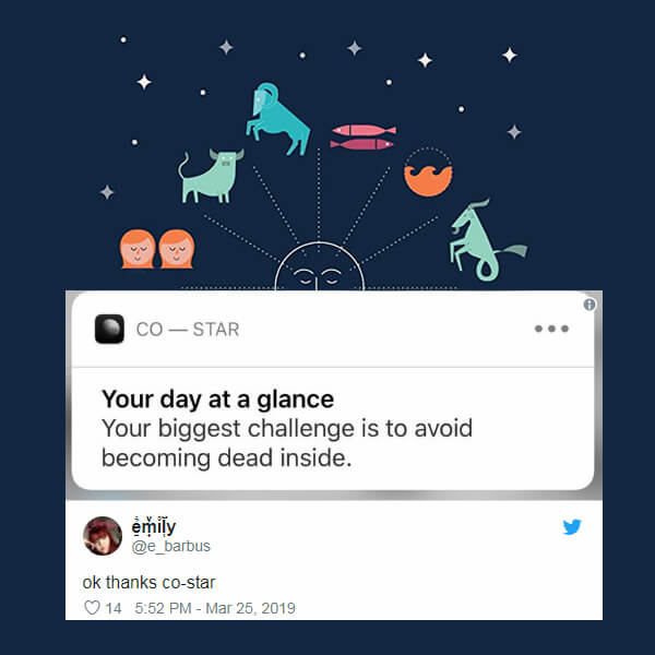 Horoscope App's Killing It With Daily Viral and Hilarious Suggestions