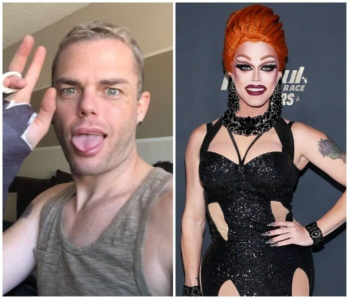 Stunning 8 Rupaul S Drag Race Stars With And Without