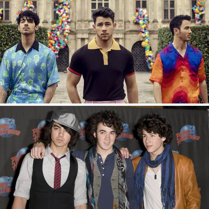See How Priyanka, Sophie, and Danielle Changed Jonas Brothers in 7 Hilarious Before-After Pics