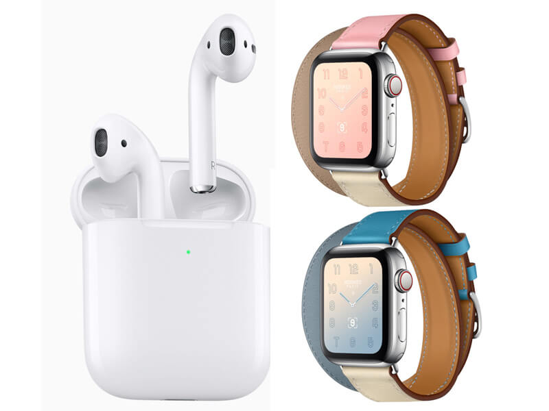 Apple Launched Brand New AirPods for the Same Price, Pastel Watch Bands and iPhones Cases