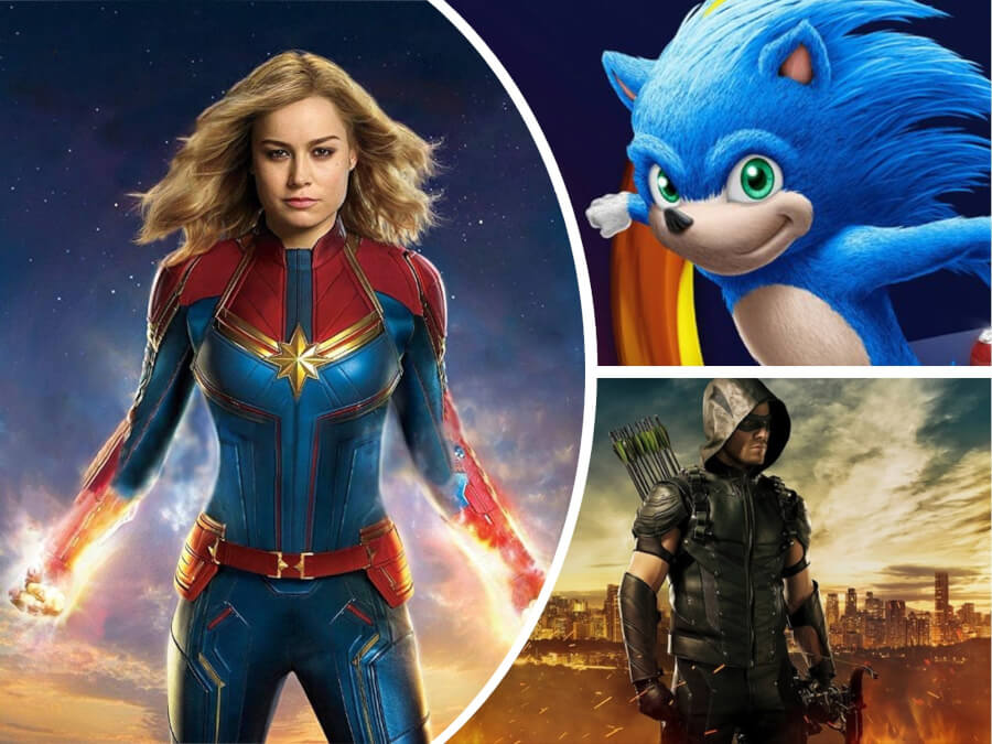 Nexter Movie News: 'Captain Marvel' Premiere, 'Tolkien' First Trailer, Leaked Pictures of 'Sonic the Hedgehog' Movie + More