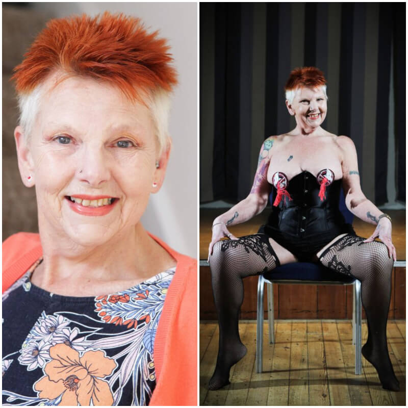 Age Is Just a Number - Hot Grandma, 71, Becomes the Oldest Burlesque Dancer in UK and Feels Sexier Than Ever (Pictures)