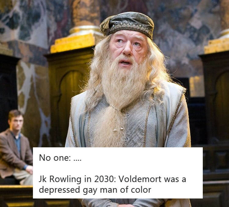 Fans Mock JK Rowling's Comment On Dumbledore's 'Intense Relationship' With Tons of Memes