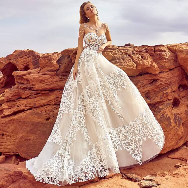 4138598d1a 10 Most Marvelous Wedding Dresses Every Woman Would Want to Own