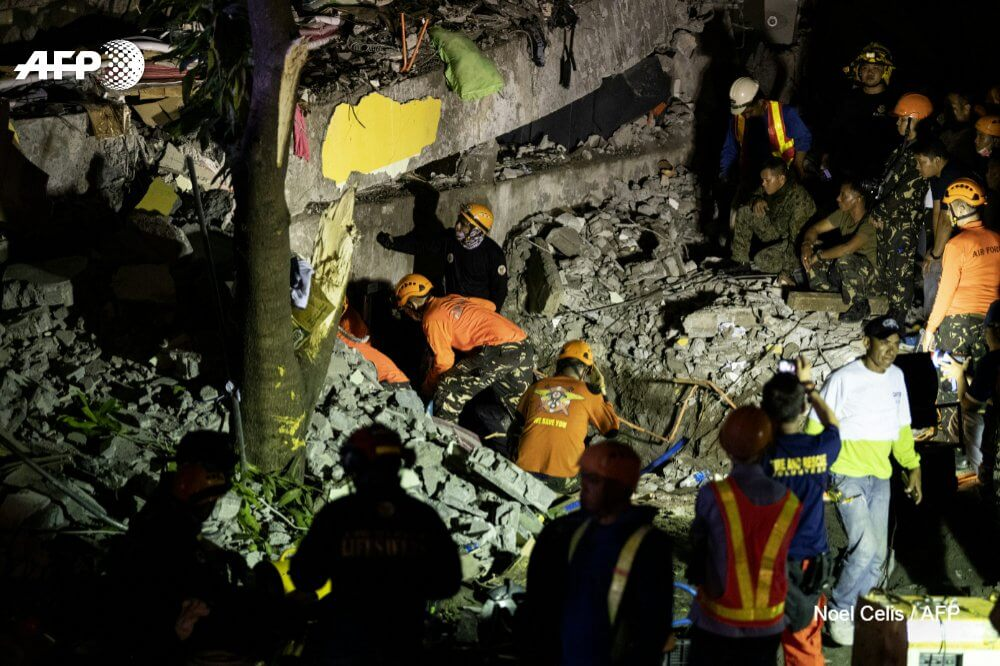 Philippines Earthquake Killed 11-pic