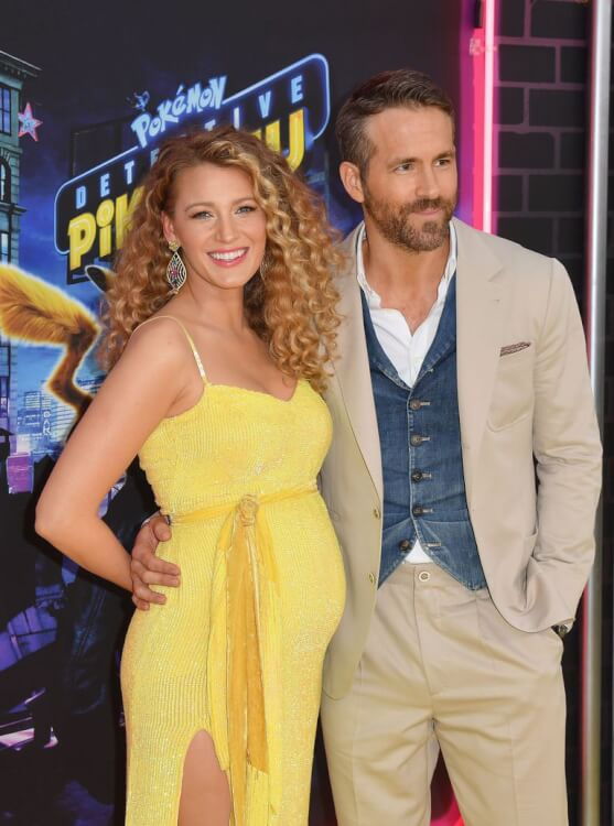 actress-blake-lively-and-actor-ryan-baby-pic