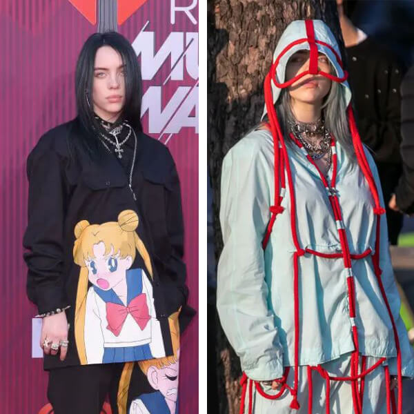 Billie Eilish Will Be Your New Fashion Idol - See 8 Most Extraordinary Outfits to Prove It