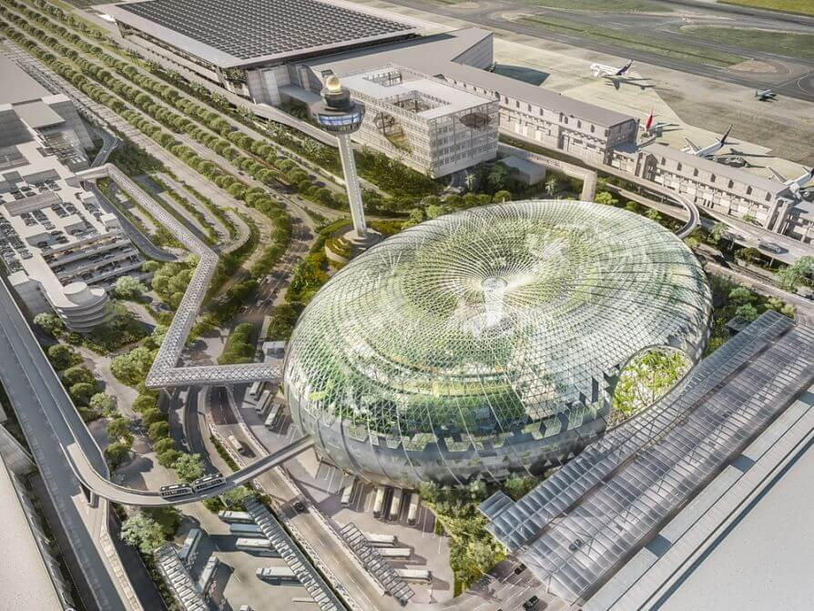 Futuristic $1.25B Jewel Changi Airport in Singapore Is NEW Tourist Attraction (VIDEO Inside)