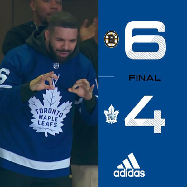 Drake Curse Confirmed! Toronto Maple Leafs Lost After Rapper Appears to Wear Their Merch