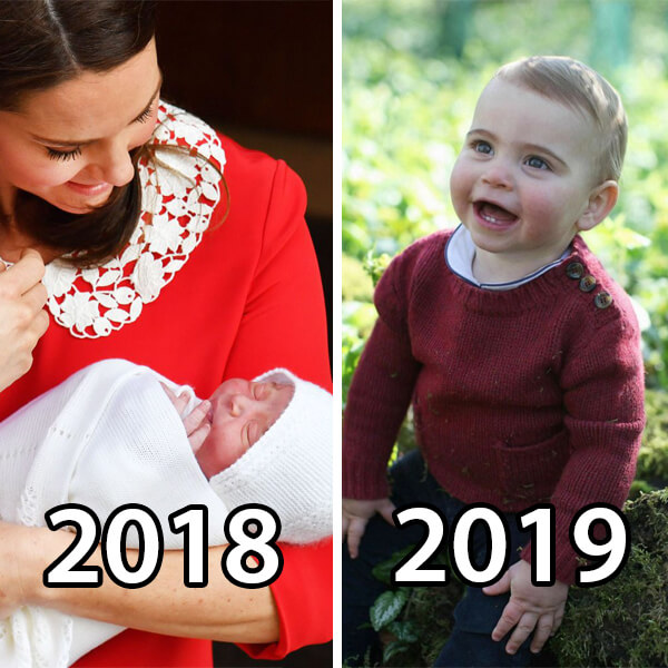 Prince Louis Is 1 Year Old - 10 Most Adorable Moments Through the Year