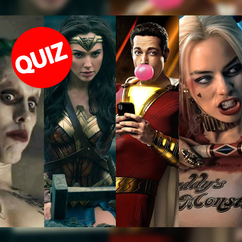 QUIZ: Are You Shazam, Aquaman or Other DCEU Character?