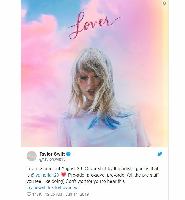Taylor Swift's New Album 'Lover' Collection + 8 More Celebs Who Created Their Own Fashion Lines