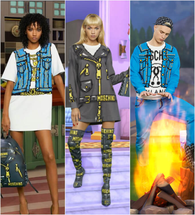 Moschino New Fashion Line Will Turn You Into A Real Life 'The Sims' Character - I Need All Of It, Please!