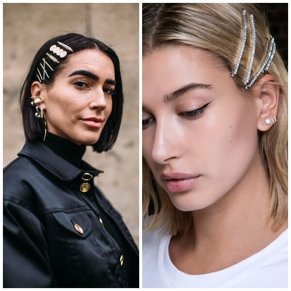 8 Cool Ideas How To Wear Barrettes In 2019 Without Looking Like School-Girl