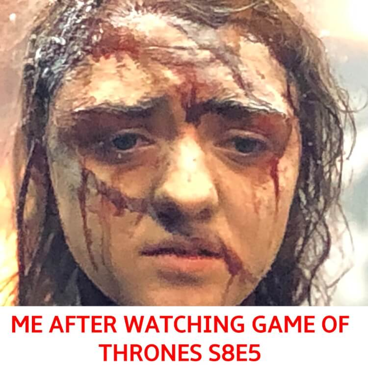 "What the Hell (Literally) It Was? Best Memes of 'Game of Thrones' Season 8 Episode 5 ""The Bells"""