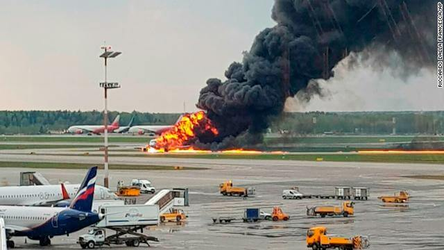 41 DEAD in Russia's Sheremetyevo Plane Emergency Landing Crash - Terrifying Photos and Videos