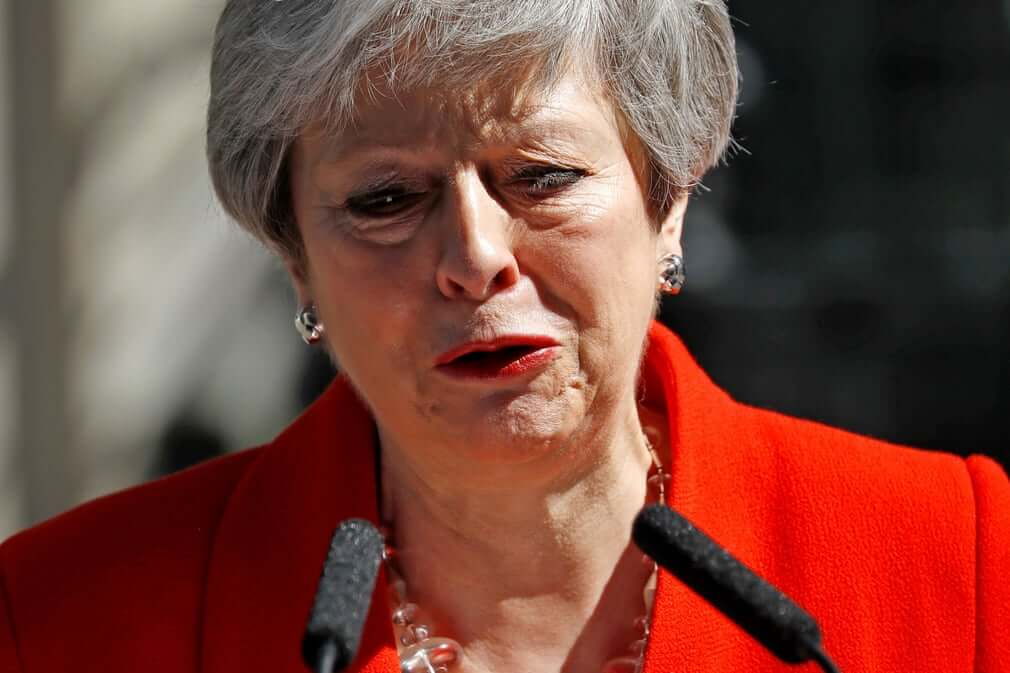 Breaking! British Prime Minister Theresa May Resigns Due to Brexit Failure