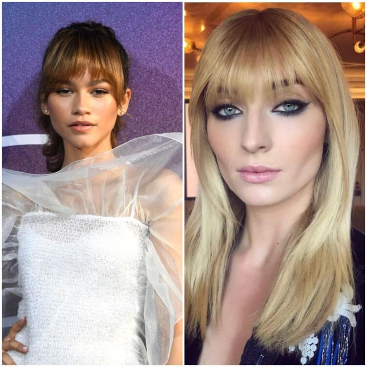 Strong Summer 2019 Trend? Zendaya and 7 Other A-List Celebrities Wearing Bangs (Pictures For Inspiration)