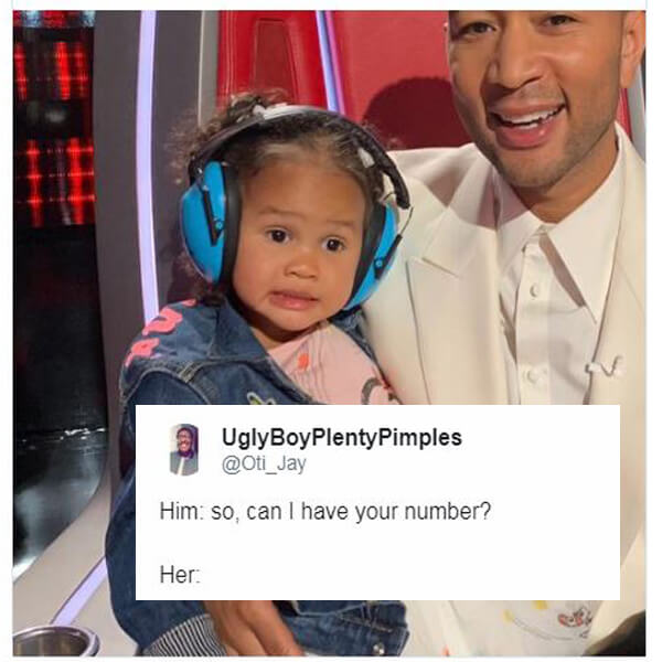 Chrissy Teigen's Daughter is Now a Hilarious Meme and Proof That Cloning is REAL