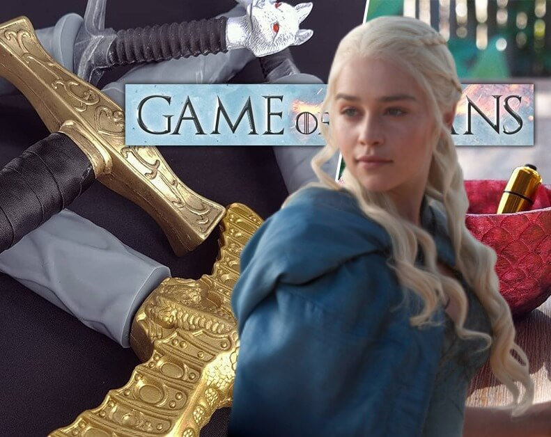 Free Your Khaleesi Fantasy With Jon Snow's Dildo Sword and Other 'Game of Thrones' Sex Toys