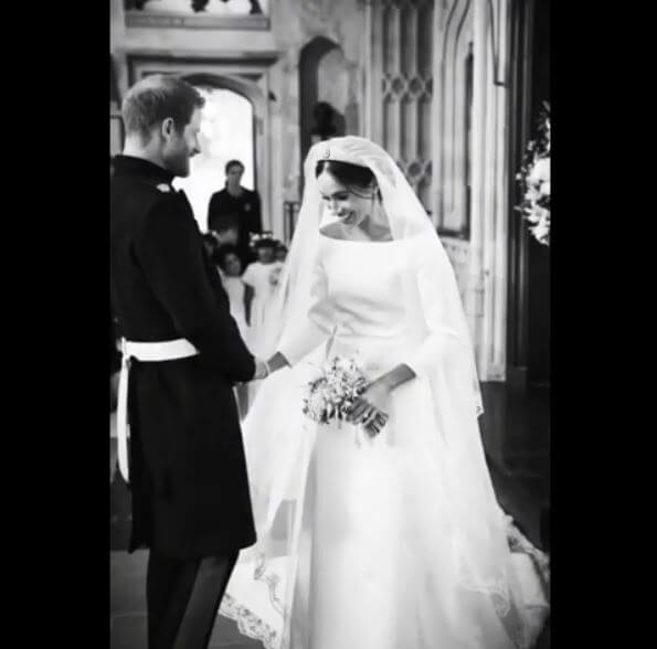 Celebrate Anniversary with Royals! 7 Unseen Pics from Meghan Markle and Prince Harry's Wedding