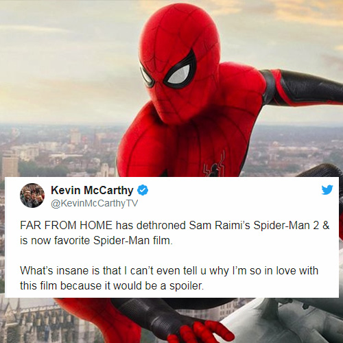 'Spider-Man: Far From Home' Is Something We Need After 'Endgame' According to First Reactions