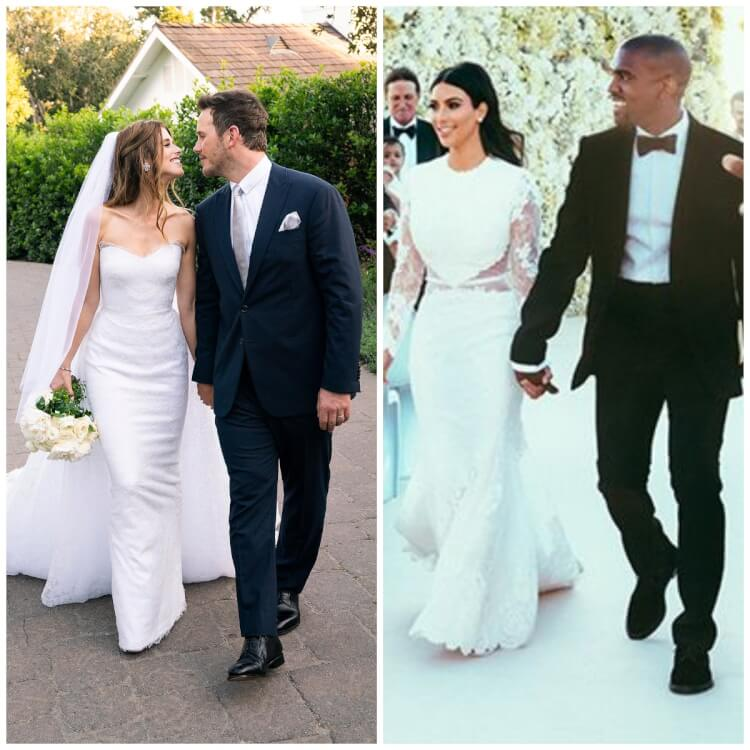 9 Most Fascinating Wedding Dresses of Celebrities - Katherine Schwarzenegger, Kim Kardashian and More