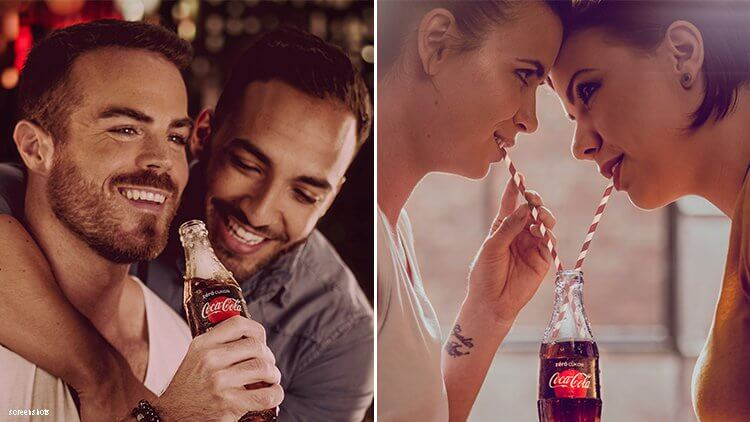 Coca Cola + Other Famous Brands Celebrate Diversity With Plus Size and LGBT Models In Ads