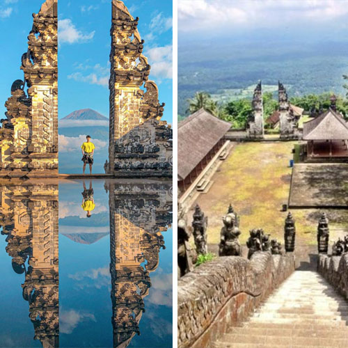Lempuyang Temple in Bali + 8 Popular Tourist Attractions