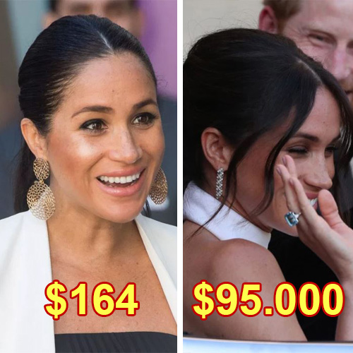 $760K-Worth Jewelry That Meghan Markle Wore So Far – Including Low-Cost Bracelets
