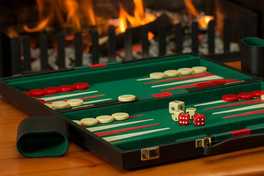 Backgammon-photo