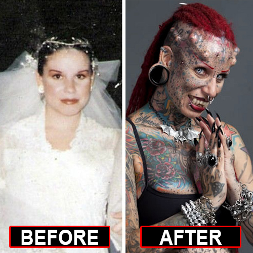 "8 Bizarre Body Transformations That Will Make You Say ""OMG"""