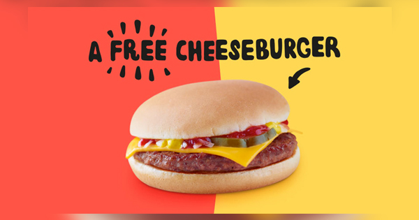 OMG! McDonald's Offering FREE Cheeseburgers - See How Get It Right Now!