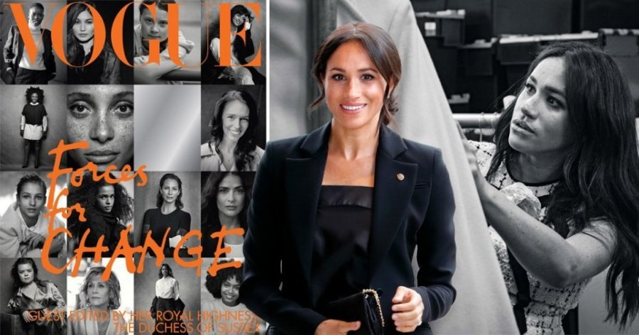 Meghan Markle Vogue Scandal: The Duchess Accused of Ripping Off Cover From The Game Changers Book