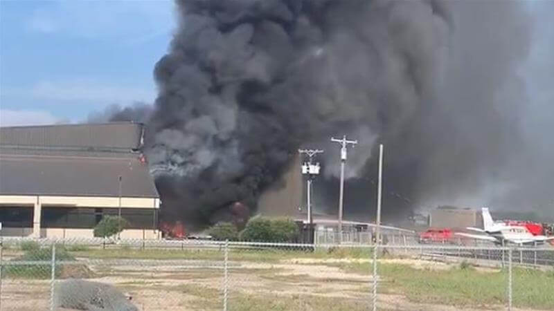 BREAKING! 10 Dead After Plane Crash in Dallas, US - See Terrifying Videos