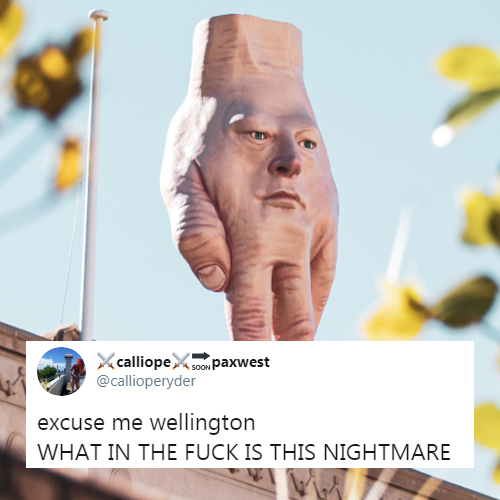 Giant and Creepy Hand Sculpture Is Terrifying New Zealanders - Hilarious Reactions and Memes