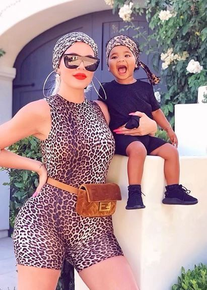 Khloe and True in Leopard Matching Clothes + 8 More BEST Kardashian-Jenner Pics of Week