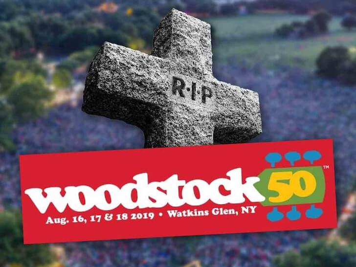 Woodstock 50 Is Canceled - Jay-Z, Miley Cyrus and Other Musicians Who Back Out the Festival Before It Ruined