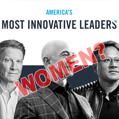 Forbes's 100 Innovators List Includes Just 1 Woman and It Makes People Outrageous - Twitter Reactions