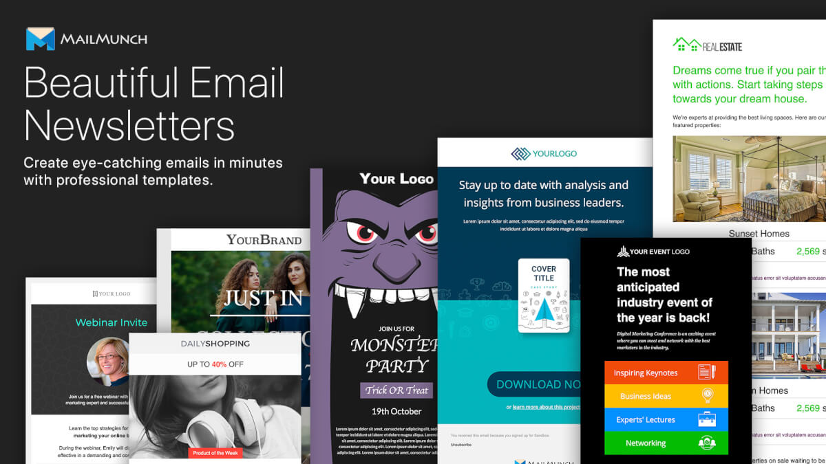11 Newsletter-Templates