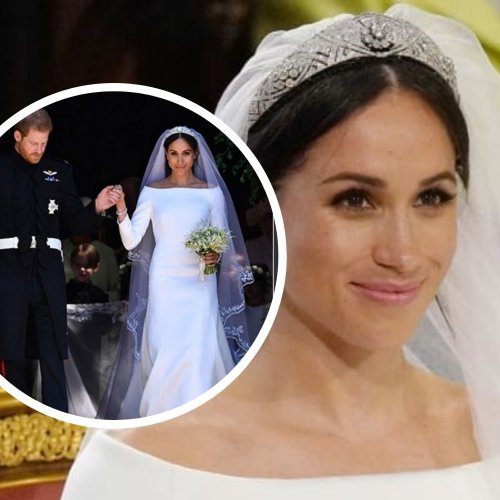 wedding-dress-meghan-markle-secret-something-blue-pic