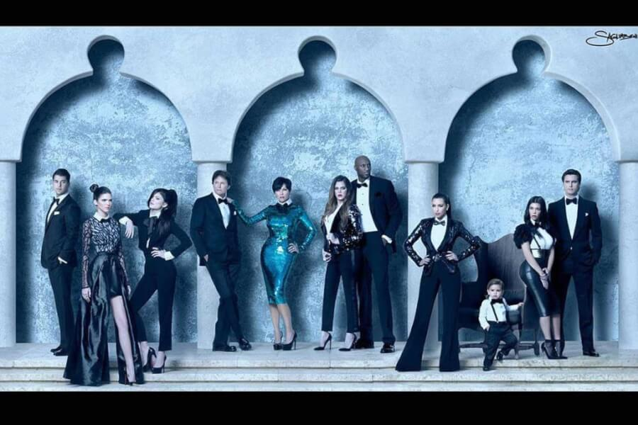 kardashian-family-christmas-card-photo