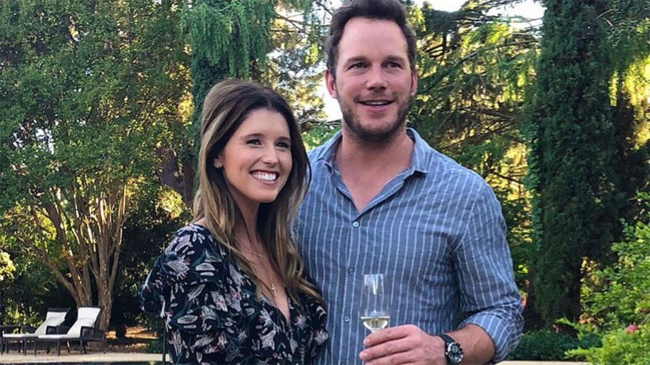 Chris-pratt-katherine-schwarzenegger-engaged-photo
