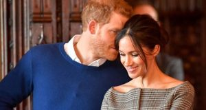 meghan-markle-dinner-prince-harry-pda-photo