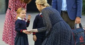 charlotte-princess-first-day-school-photo